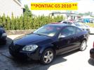** PONTIAC G5  2010 **