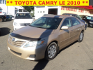 ** TOYOTA CAMRY LE 2010 **