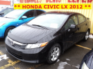** HONDA CIVIC LX 2012 **