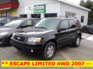 ** FORD ESCAPE LIMITED 4WD 2007 **