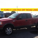 ** FORD F-150 FX4 OFF ROAD 2007 **