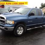 ** DODGE RAM 1500 SLT 2004 **