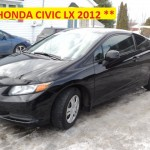 **HONDA CIVIC LX 2012 **
