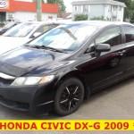 ** HONDA CIVIC DX-G 2009 **