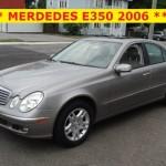 ** MERCEDES-BENZ E-350 2006 **