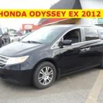 ** HONDA ODYSSEY EX 2012 **