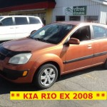 ** KIA RIO5 EX 2008 **