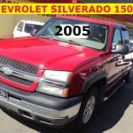 ** CHEVROLET SILVERADO 1500 2005 **