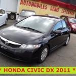 ** HONDA CIVIC DX 2011 **