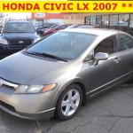 ** HONDA CIVIC LX 2007 **