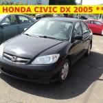 ** HONDA CIVIC DX 2005 **