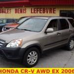 ** HONDA CR-V EX 2006 **