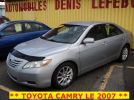 ** TOYOTA CAMRY LE 2007 **